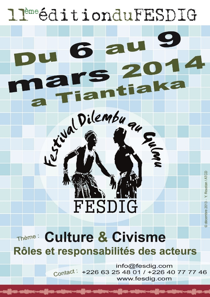 affiche FESDIG 2014